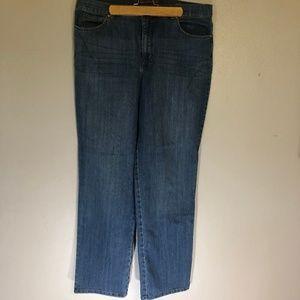 Gloria Vanderbilt 16 Amanda Classic Blue Jeans